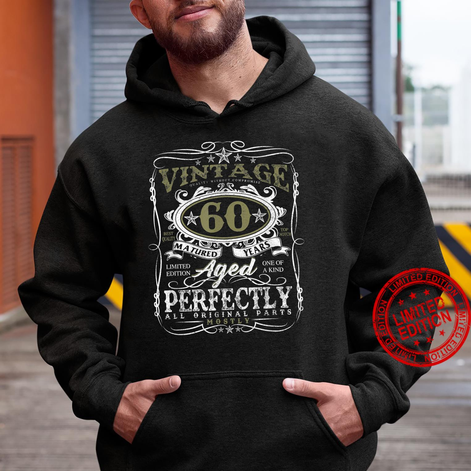 60 Year Old Vintage 1961 Limited Edition 60th Birthday Shirt hoodie