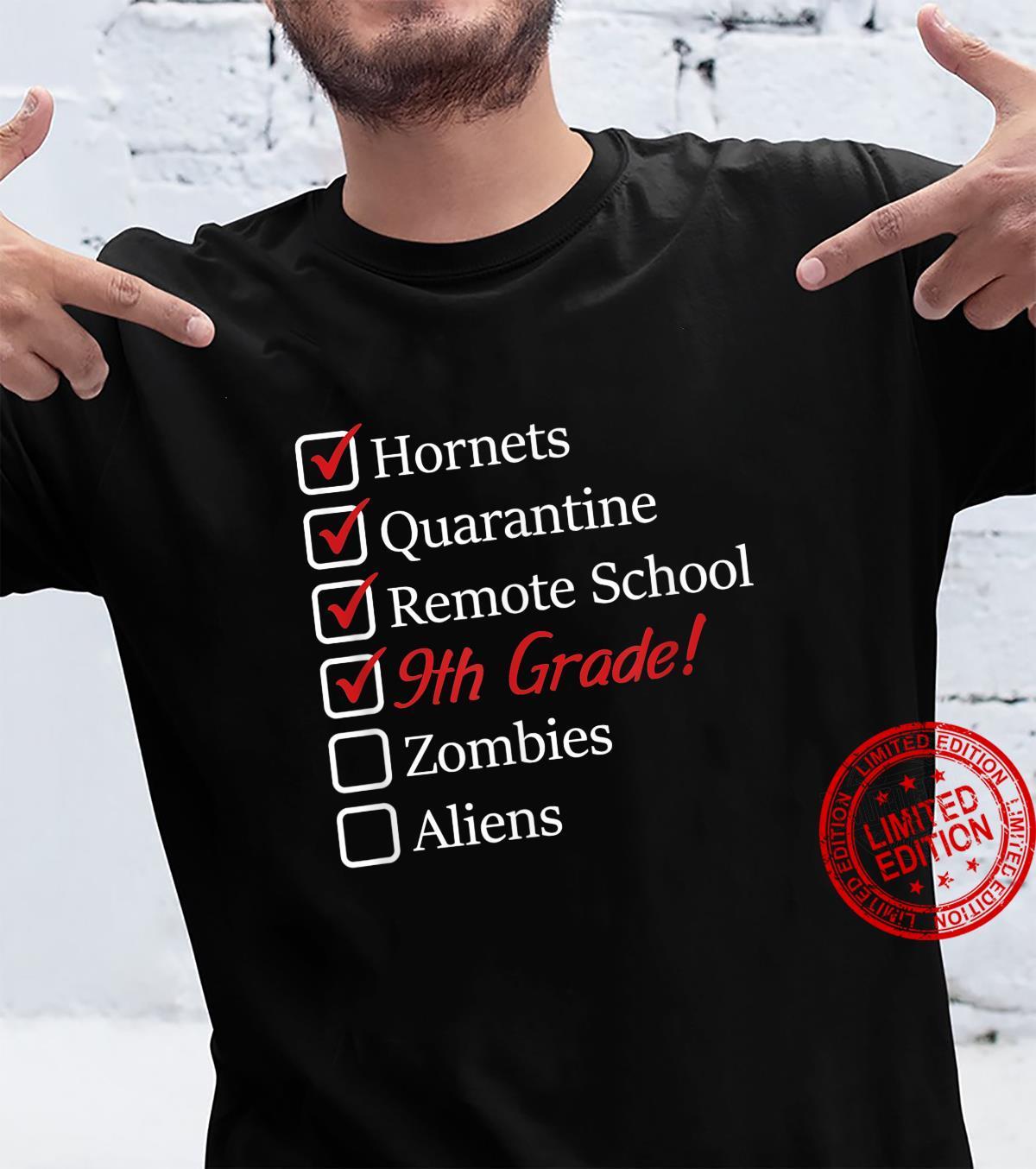 9th Quarantine 2020 Sucks Shirt