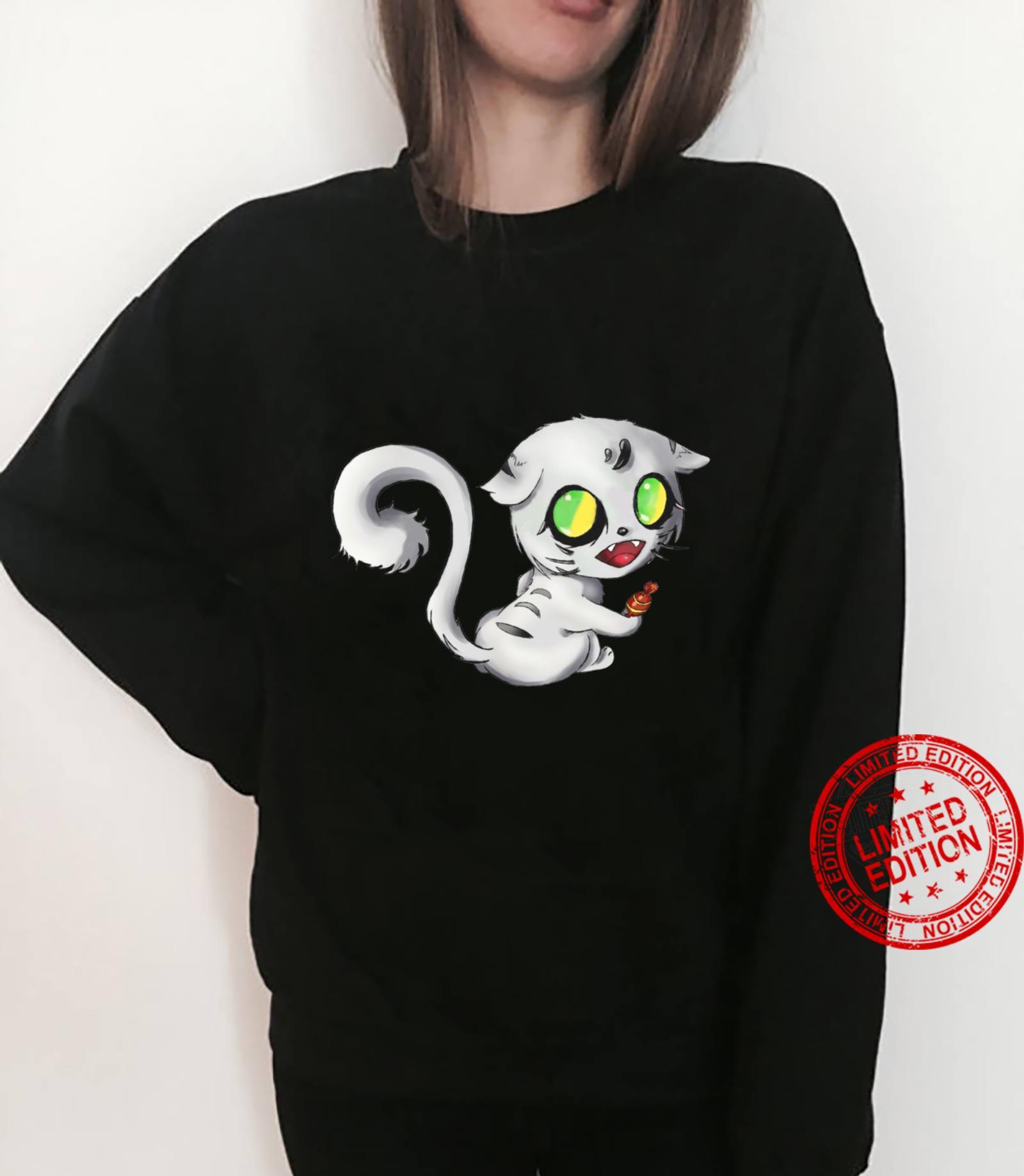 Alien Scary white Cat Halloween Tops 2020 Shirt sweater