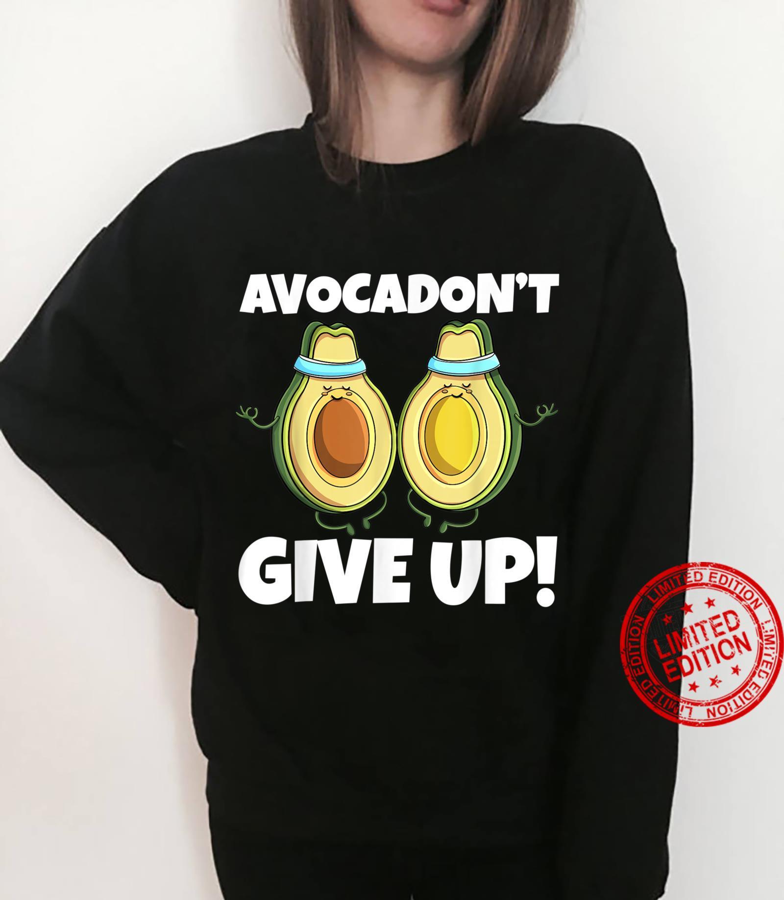 Avocadon't Give Up Avo Vegan Cat Love Shirt sweater