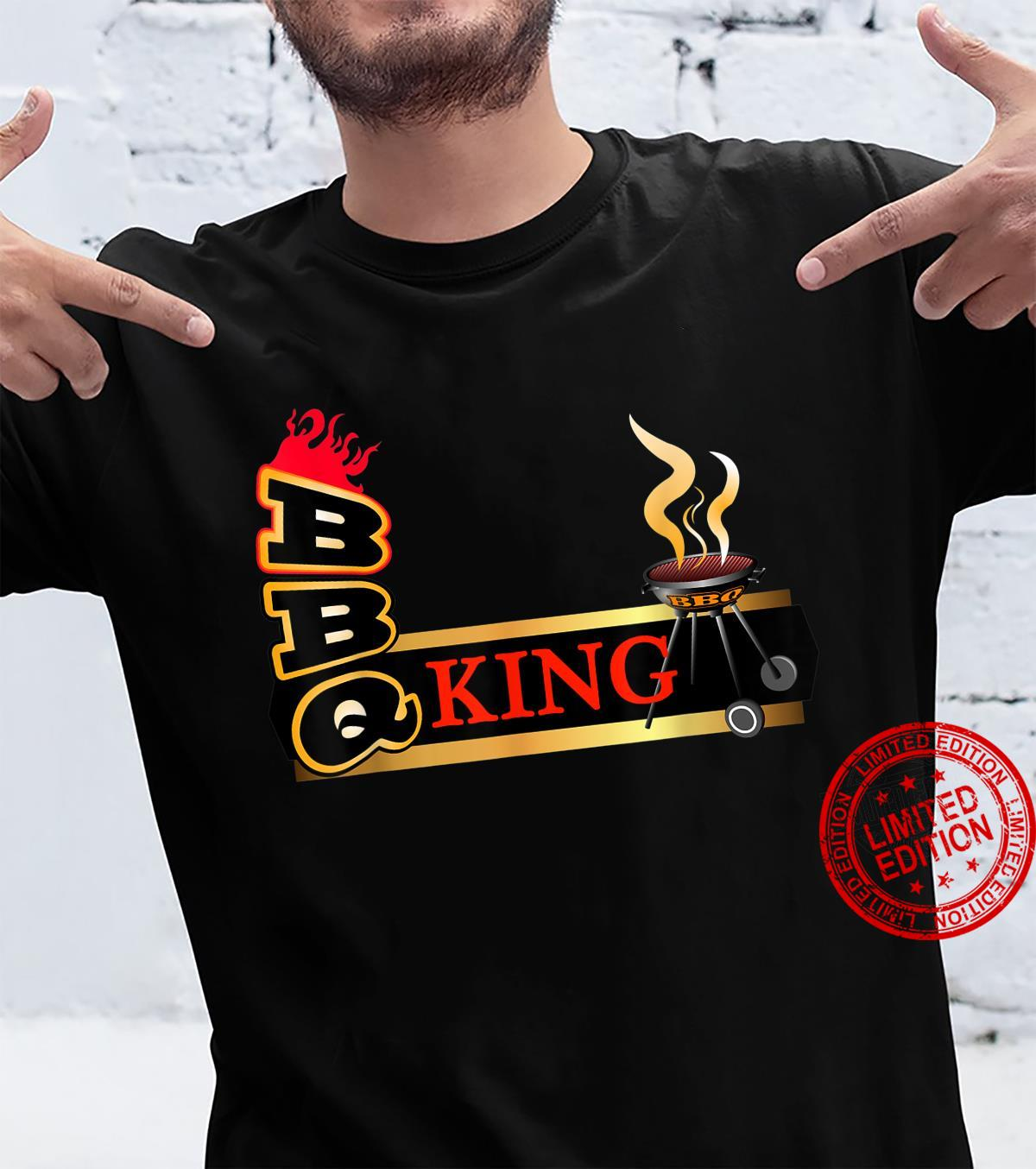 BARBECUE KING, HOT & SPICY SAUCE Shirt