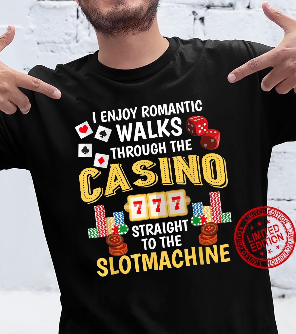Casino Poker Slot Machine Gambling Shirt