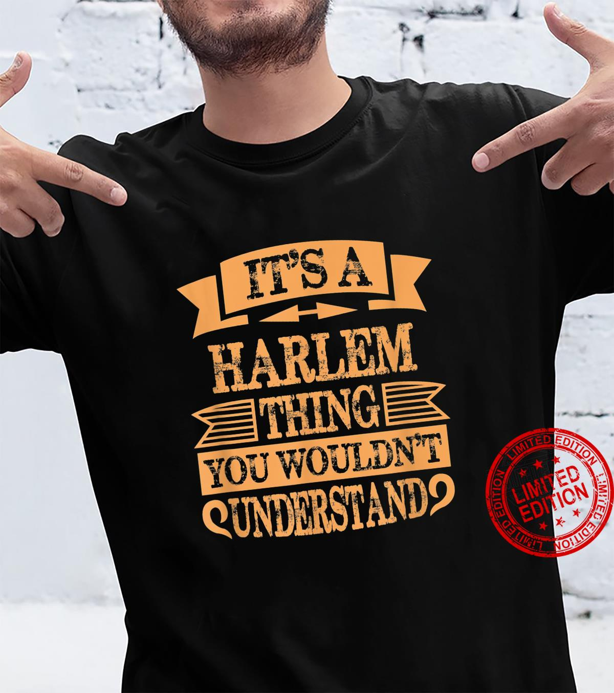 Cool harlem new york Shirt