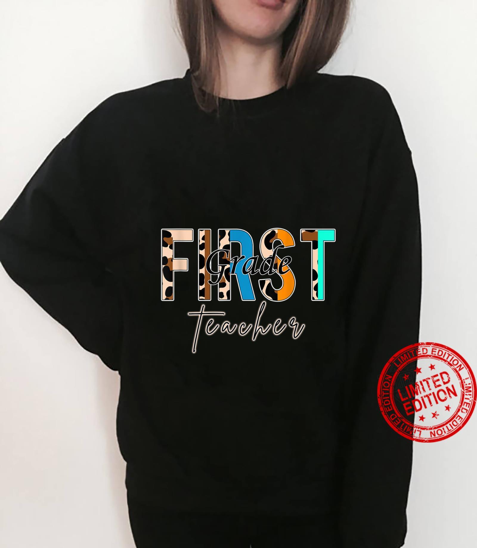 First Grade Teacher B.a.c.k To School Shirt sweater