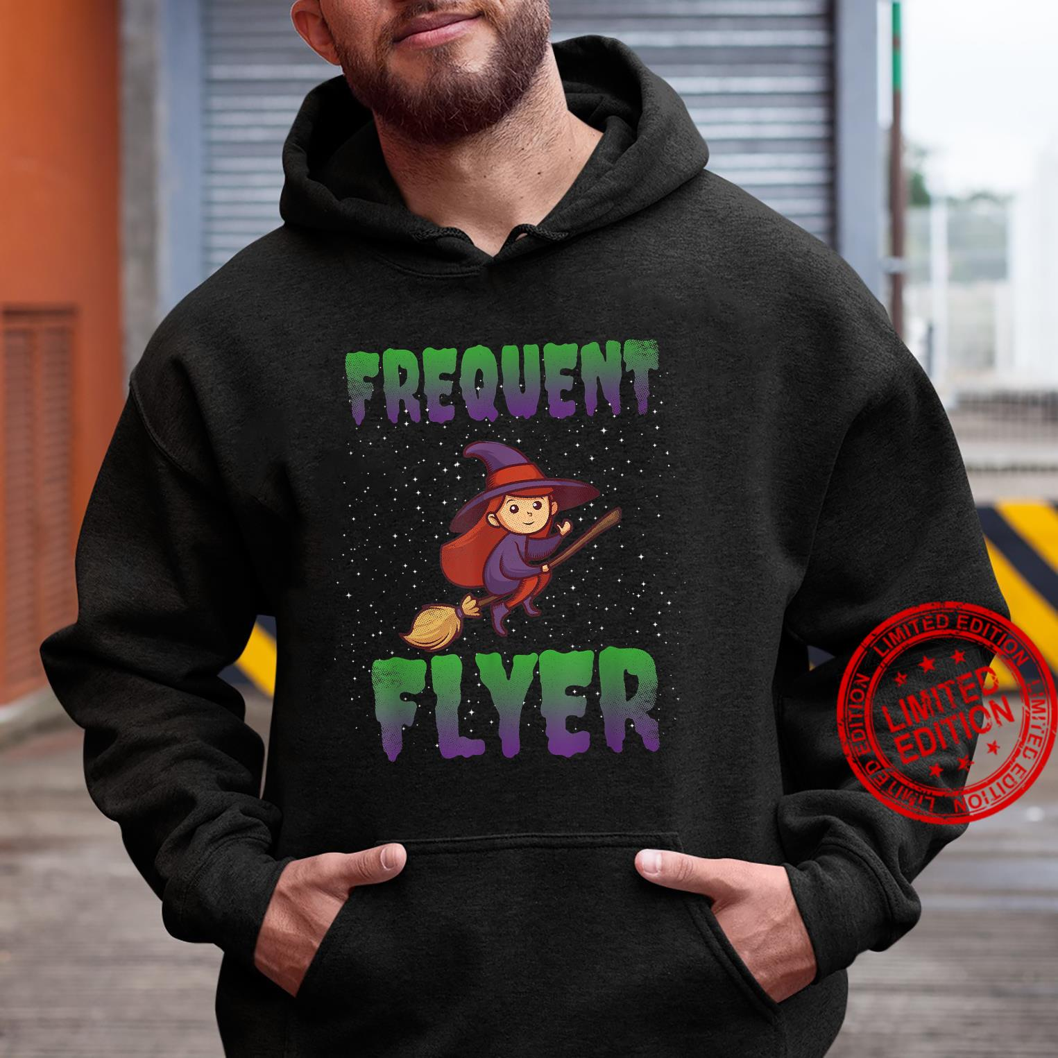 Frequent Flyer Witch Halloween Costume Witch Shirt hoodie