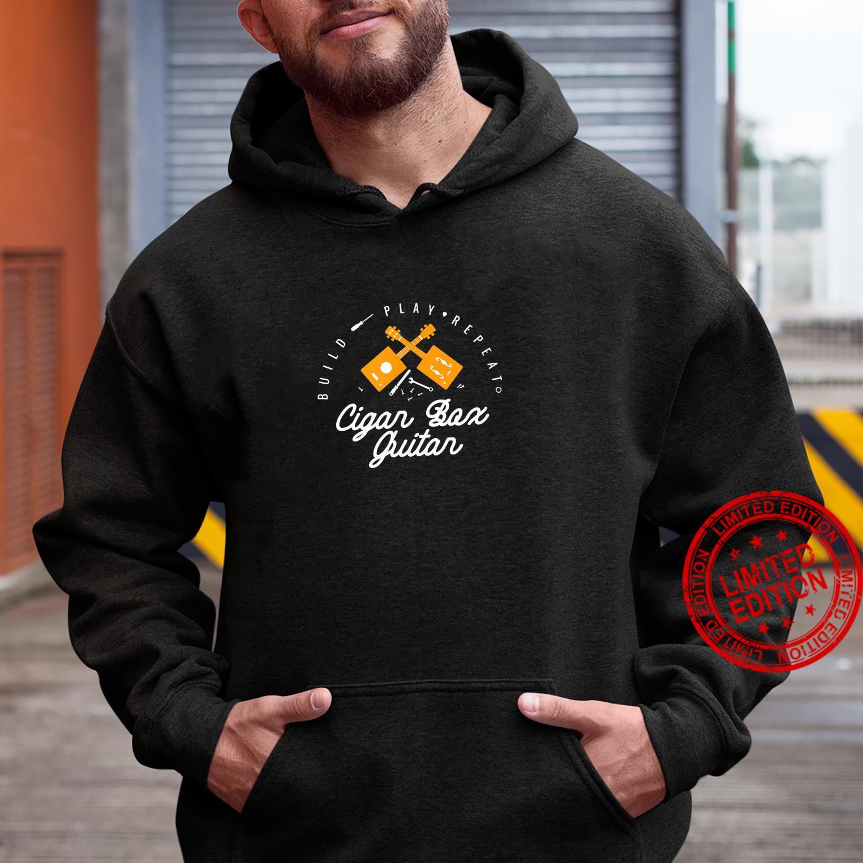 Funny Cigar Box Guitar Guitarist Bassist Music Shirt hoodie