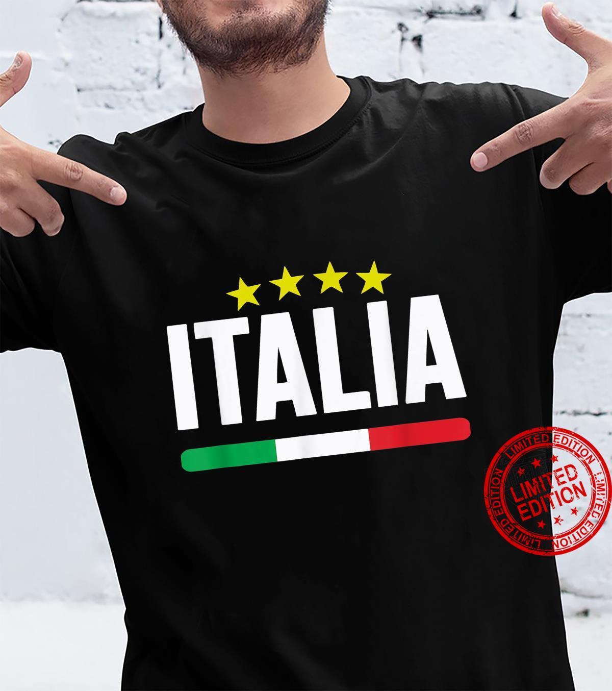 Funny Italia Football Soccer Italian Flag 2021 Shirt