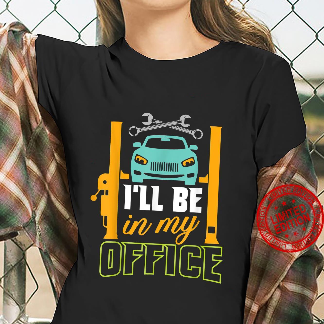 Garage Mechanic Hobby Quote For Car Repairman Shirt ladies tee