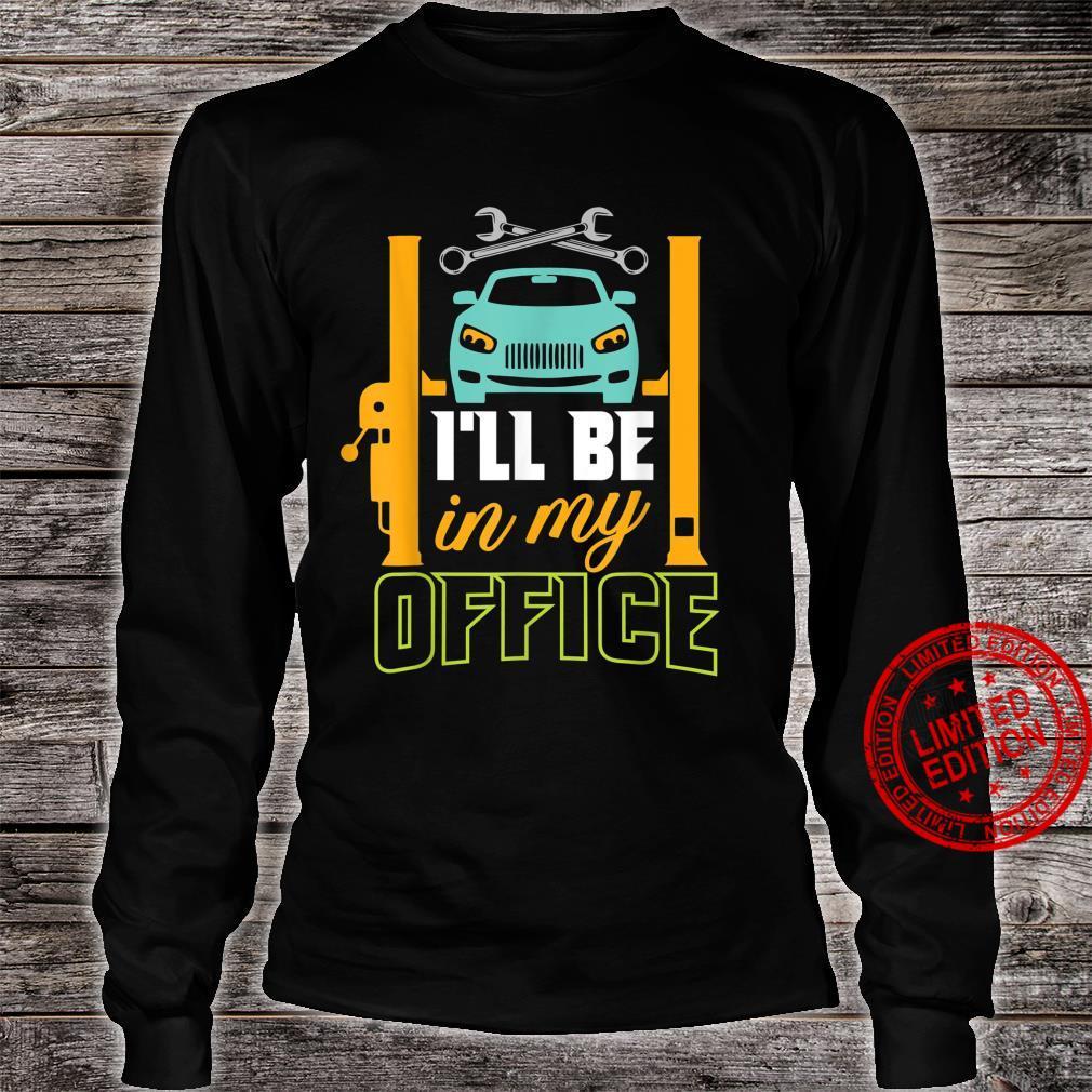 Garage Mechanic Hobby Quote For Car Repairman Shirt long sleeved