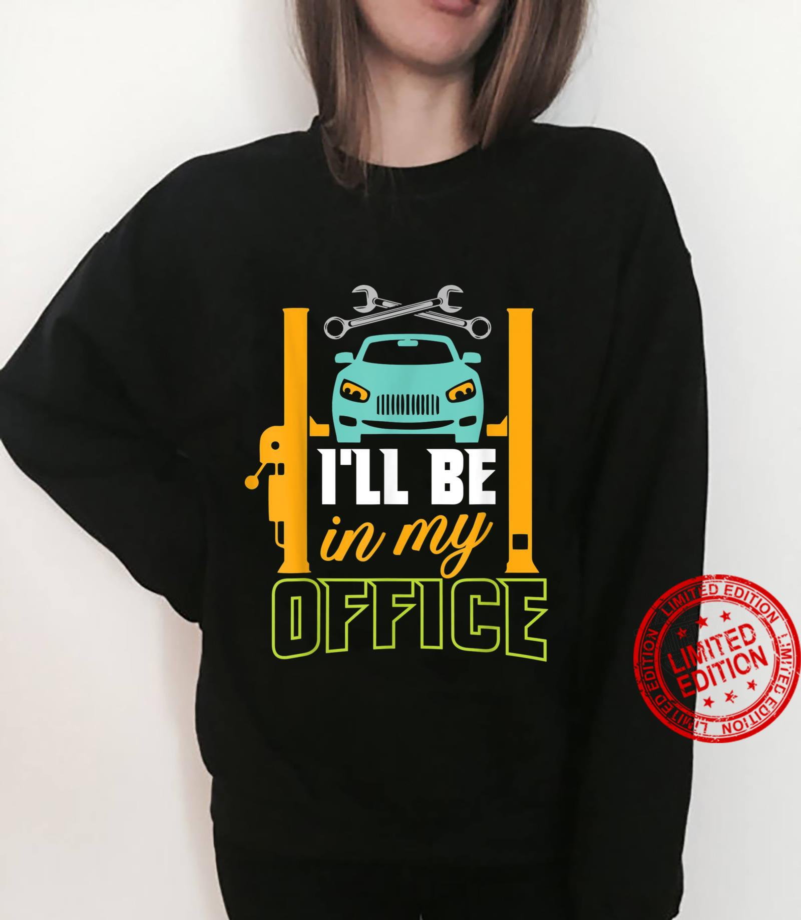Garage Mechanic Hobby Quote For Car Repairman Shirt sweater