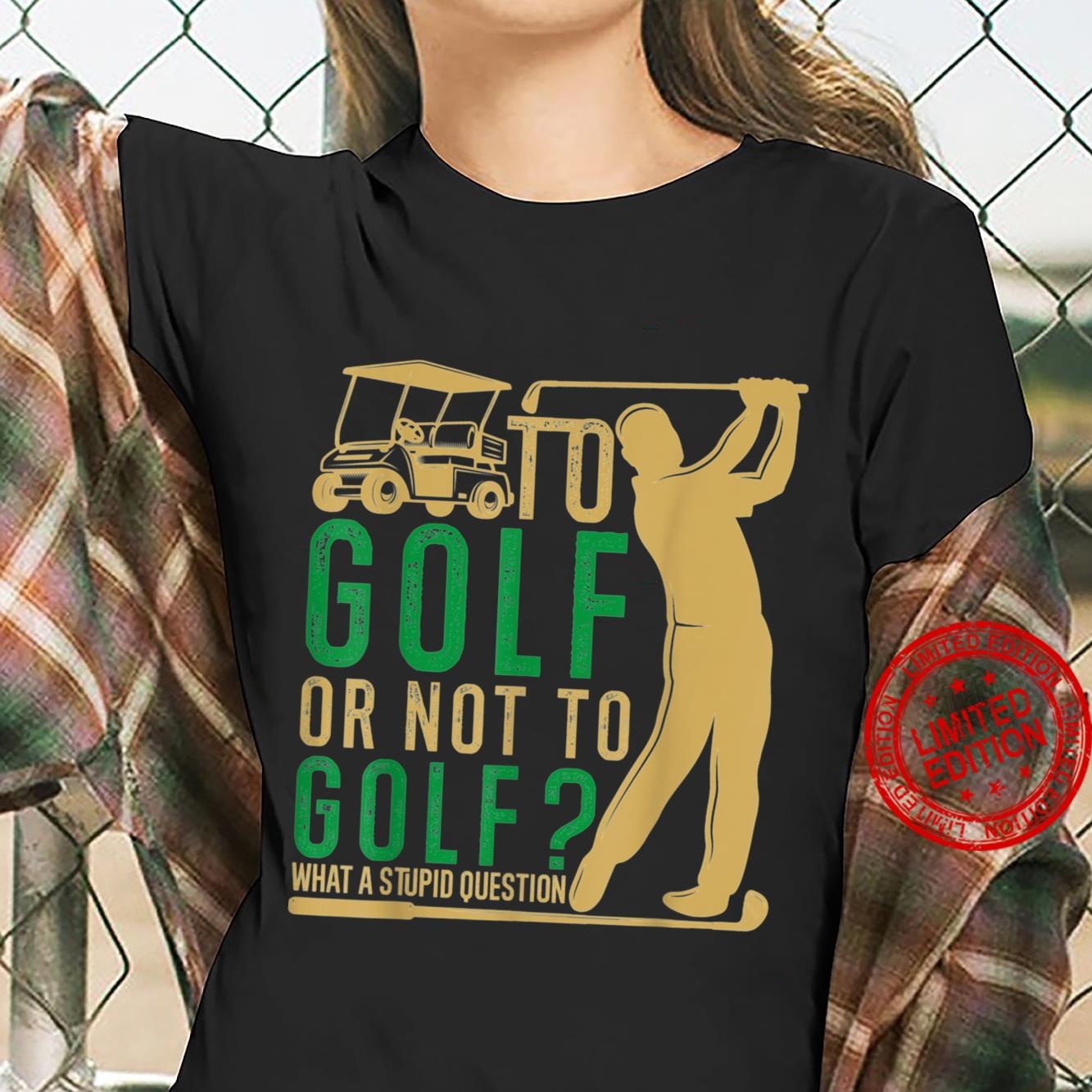 GolfSoul Golfer Playing Golf Golf Player and Classic Shirt ladies tee