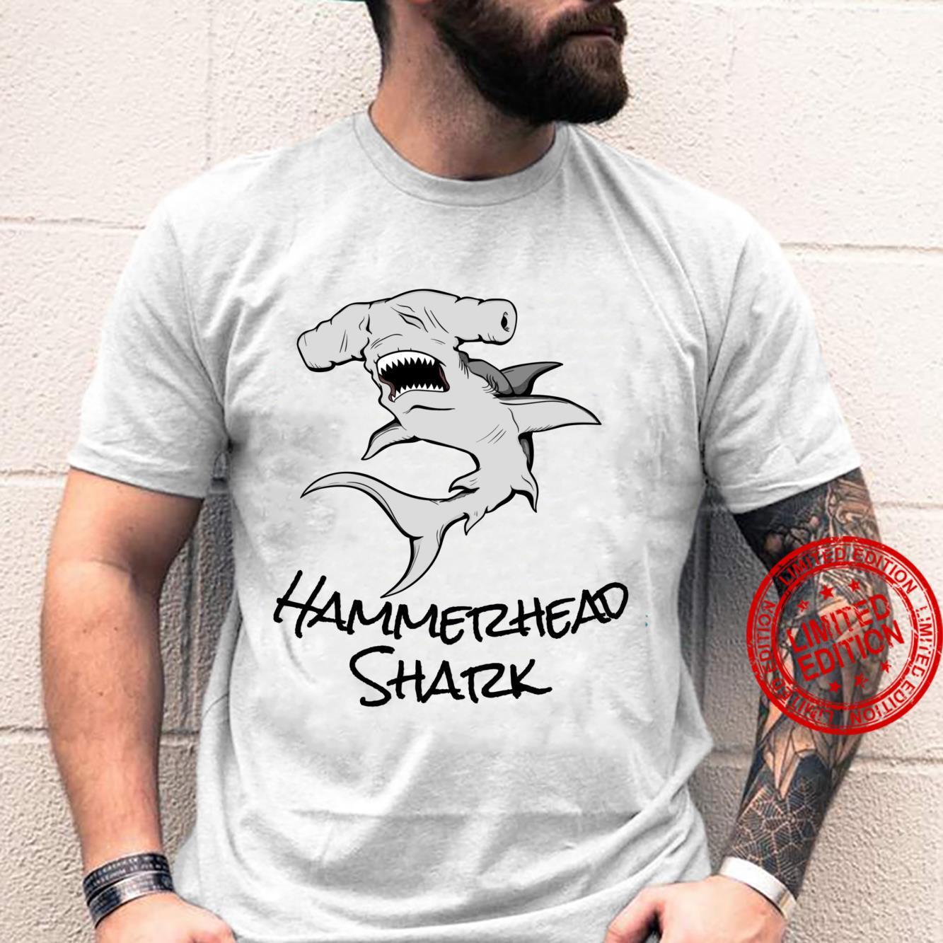 Great Hammerhead Shark Cool Shark Shirt