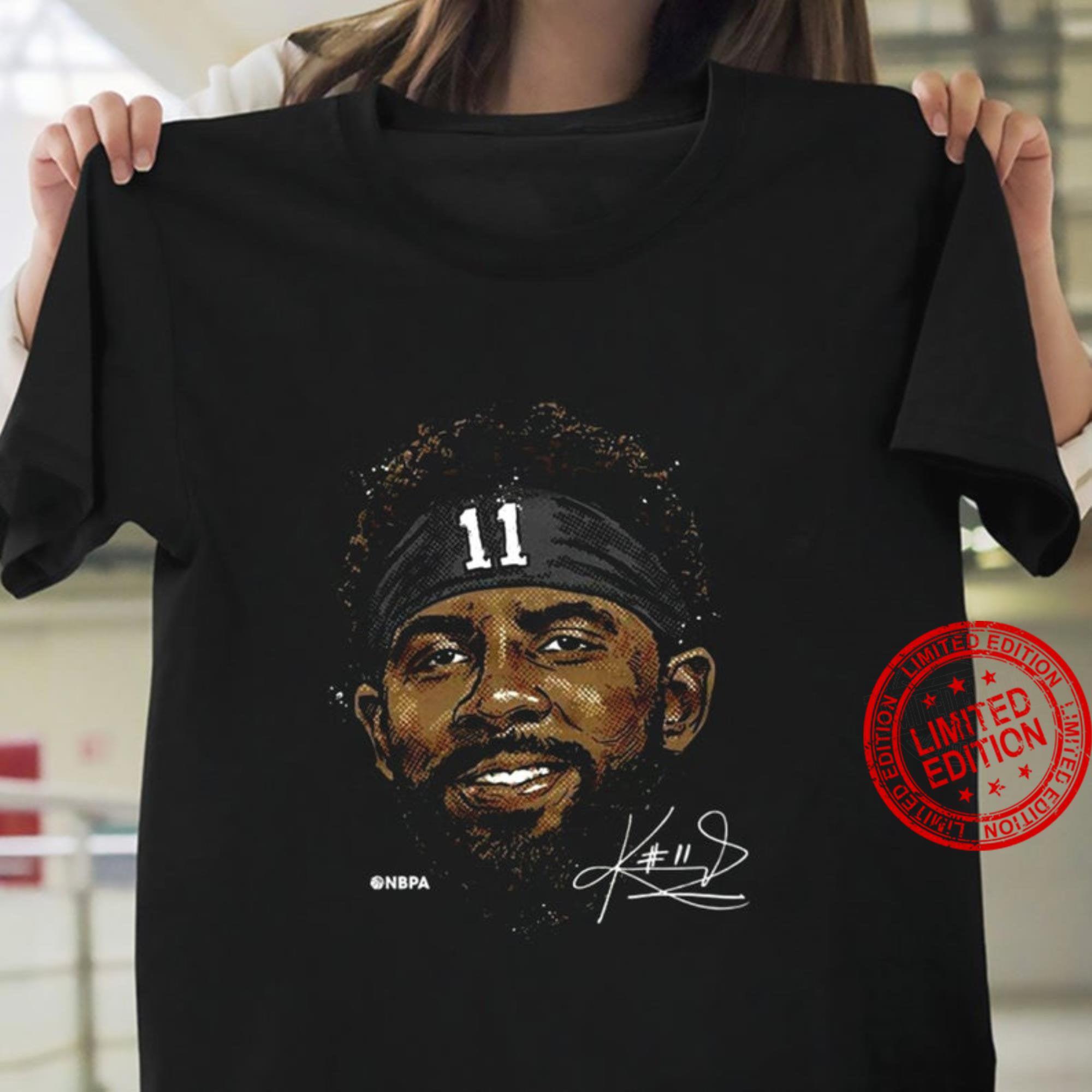 Kyrie Irving , 2021 Brooklyn Nets NBA Shirt