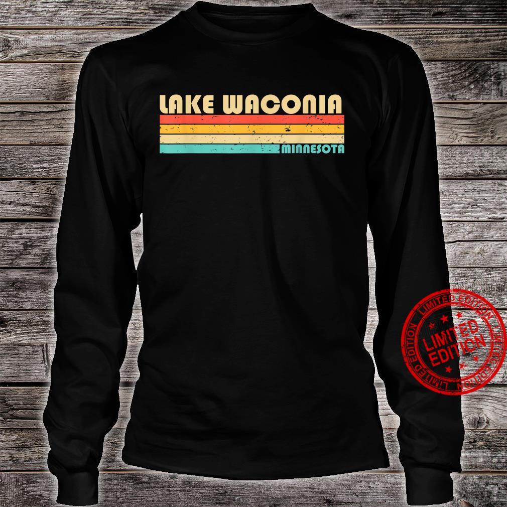 LAKE WACONIA MINNESOTA Fishing Camping Summer Shirt long sleeved