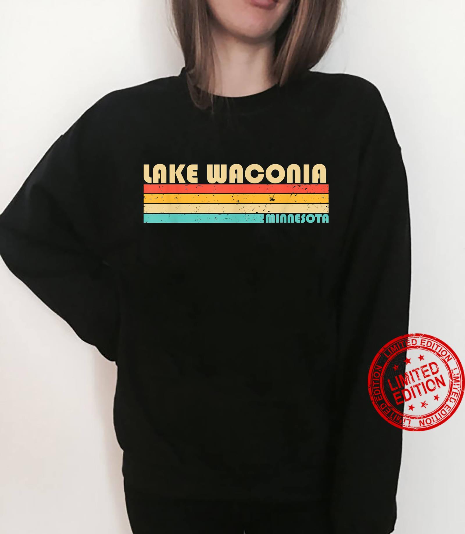 LAKE WACONIA MINNESOTA Fishing Camping Summer Shirt sweater