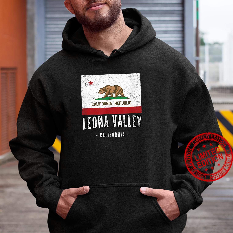 LEONA VALLEY California Cali City Souvenir CA Flag Shirt hoodie