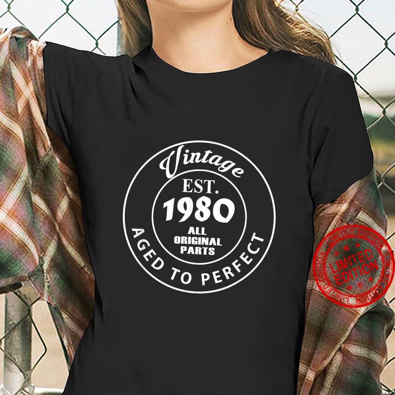 Legend Since 1980 41th Birthday 41 Shirt ladies tee