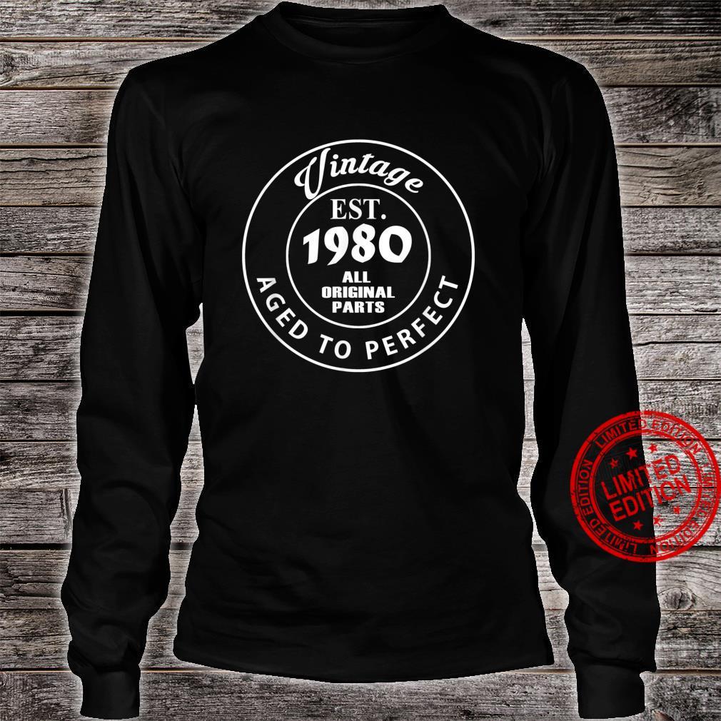 Legend Since 1980 41th Birthday 41 Shirt long sleeved