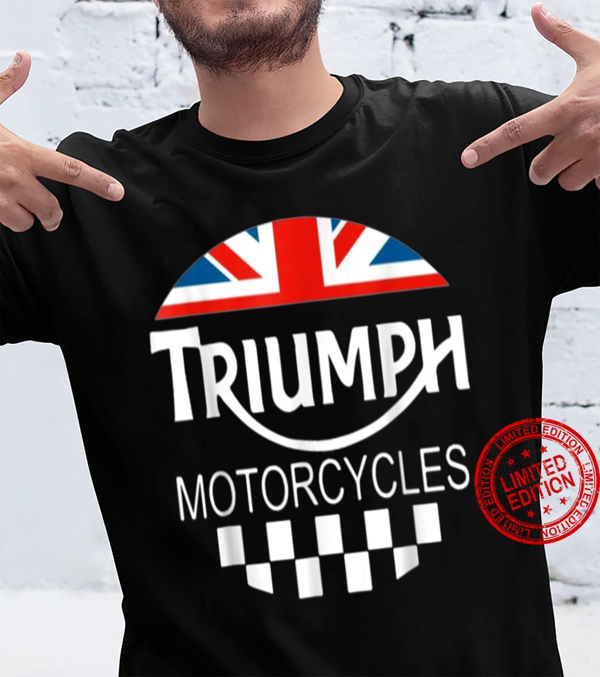 Motorcycle Triumph Biker U.k United Kingdom Shirt