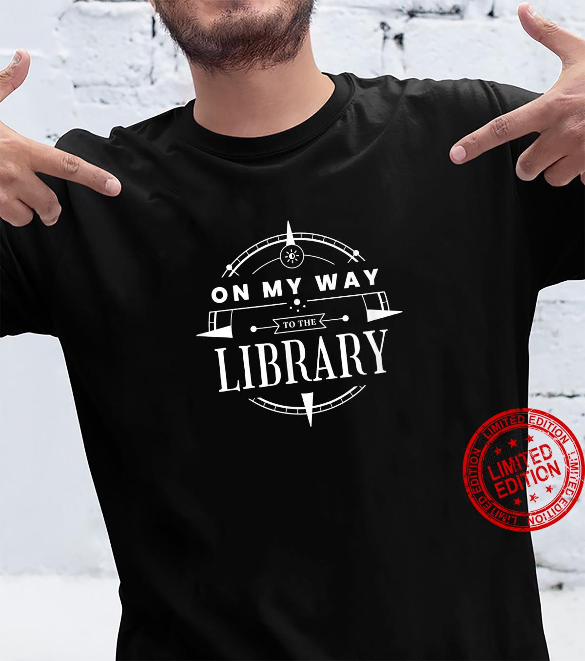 On My Way to the Library Vintage Edition Shirt