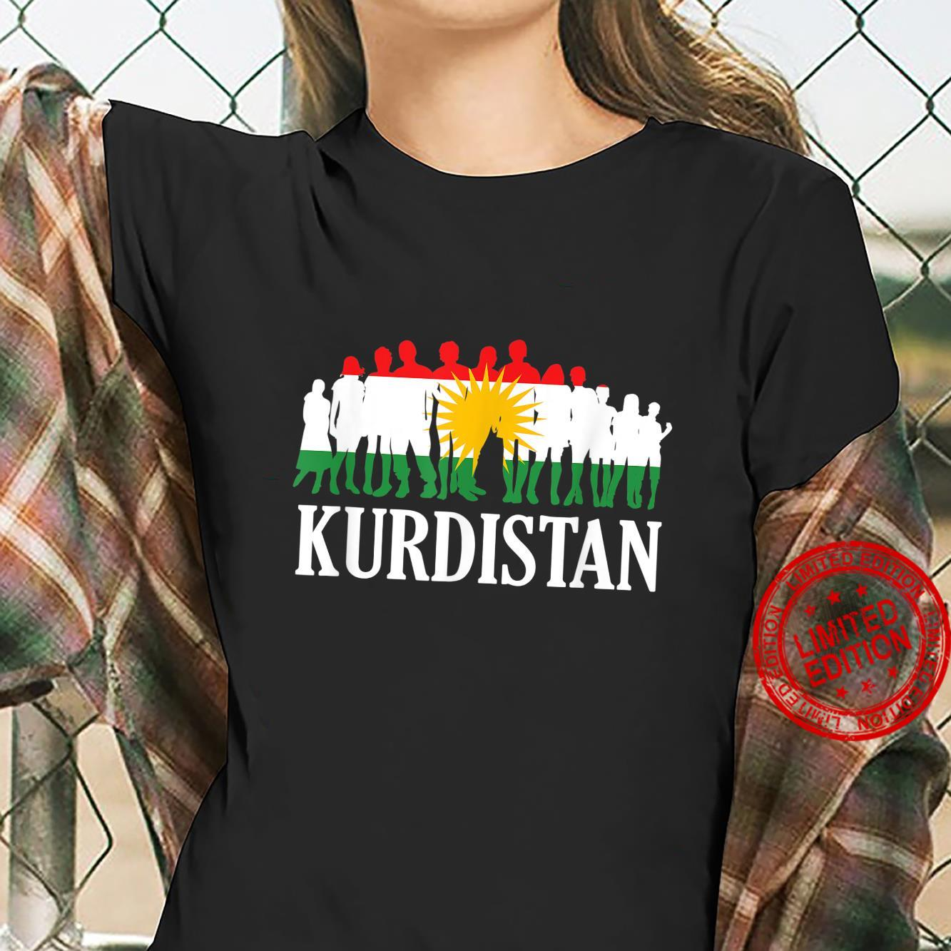 People Of Kurdistan, Kudish Flag, Kurdistan Flag, Kurdistan Shirt ladies tee