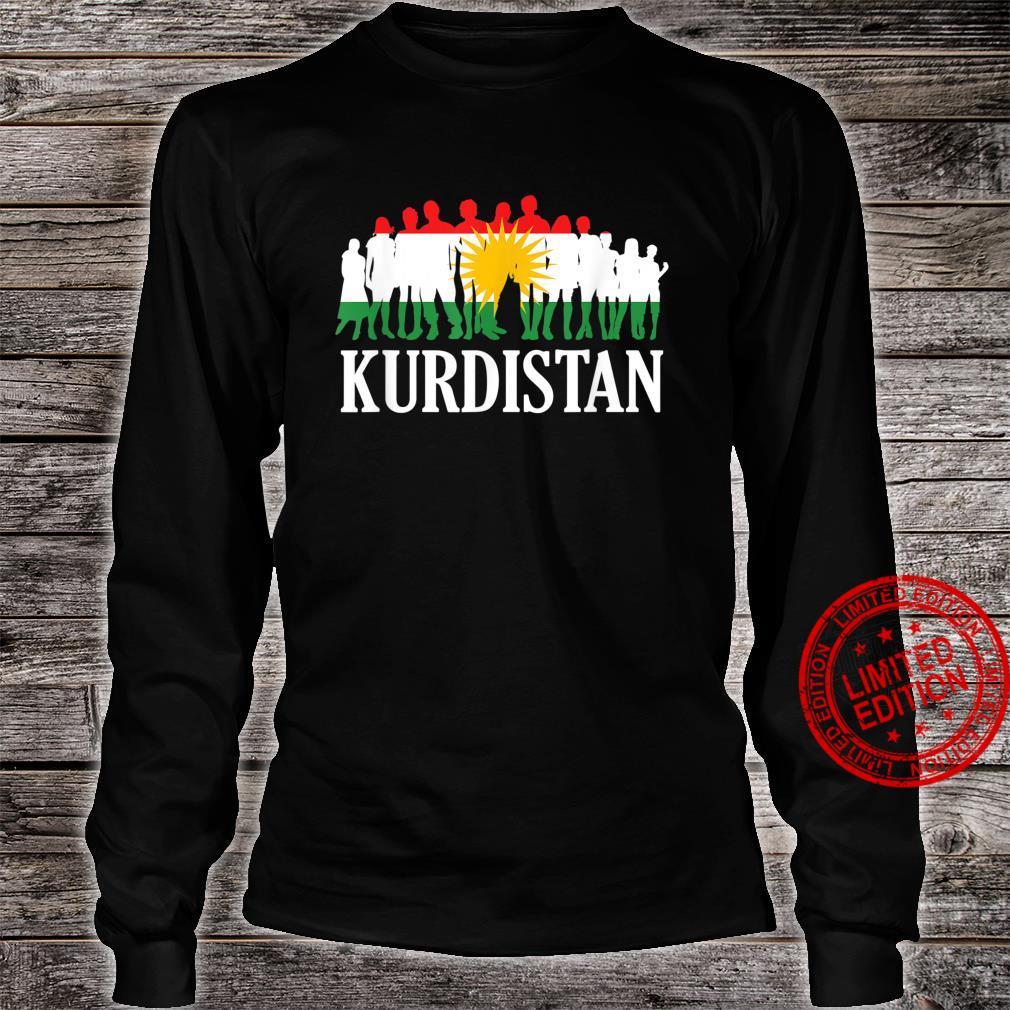 People Of Kurdistan, Kudish Flag, Kurdistan Flag, Kurdistan Shirt long sleeved