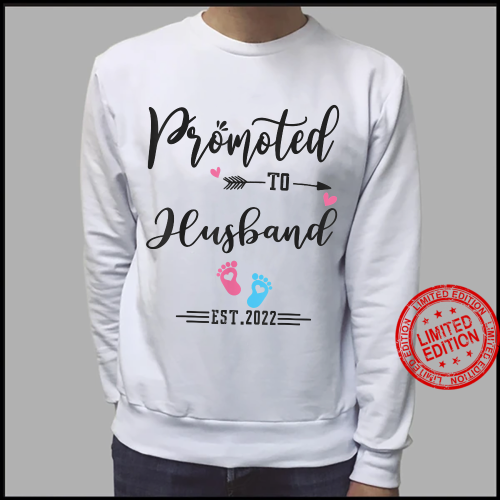Promoted To Husband Est 2022 Soon To Be Husband Shirt sweater