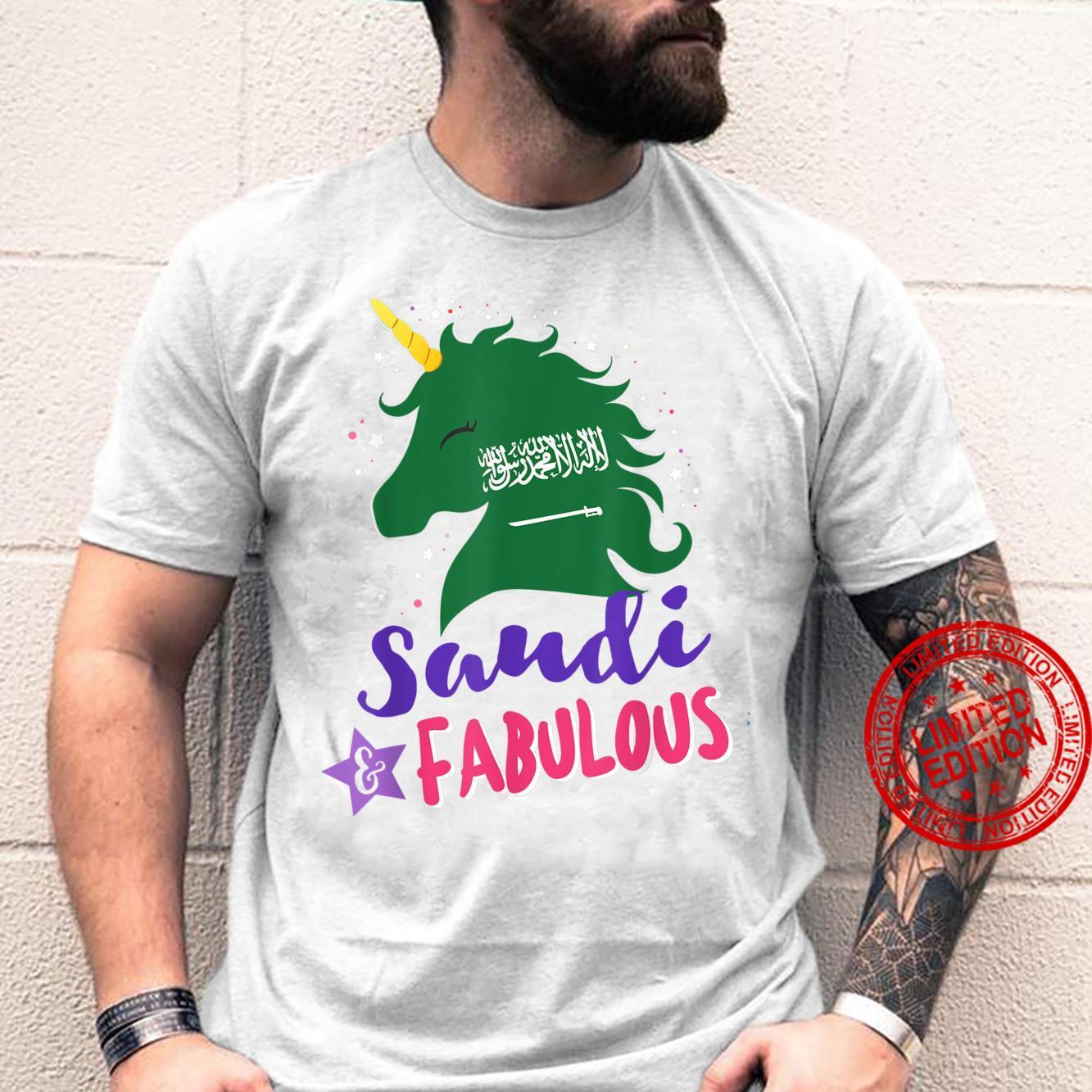 Saudi Arabian Unicorn Saudi Arabia Shirt