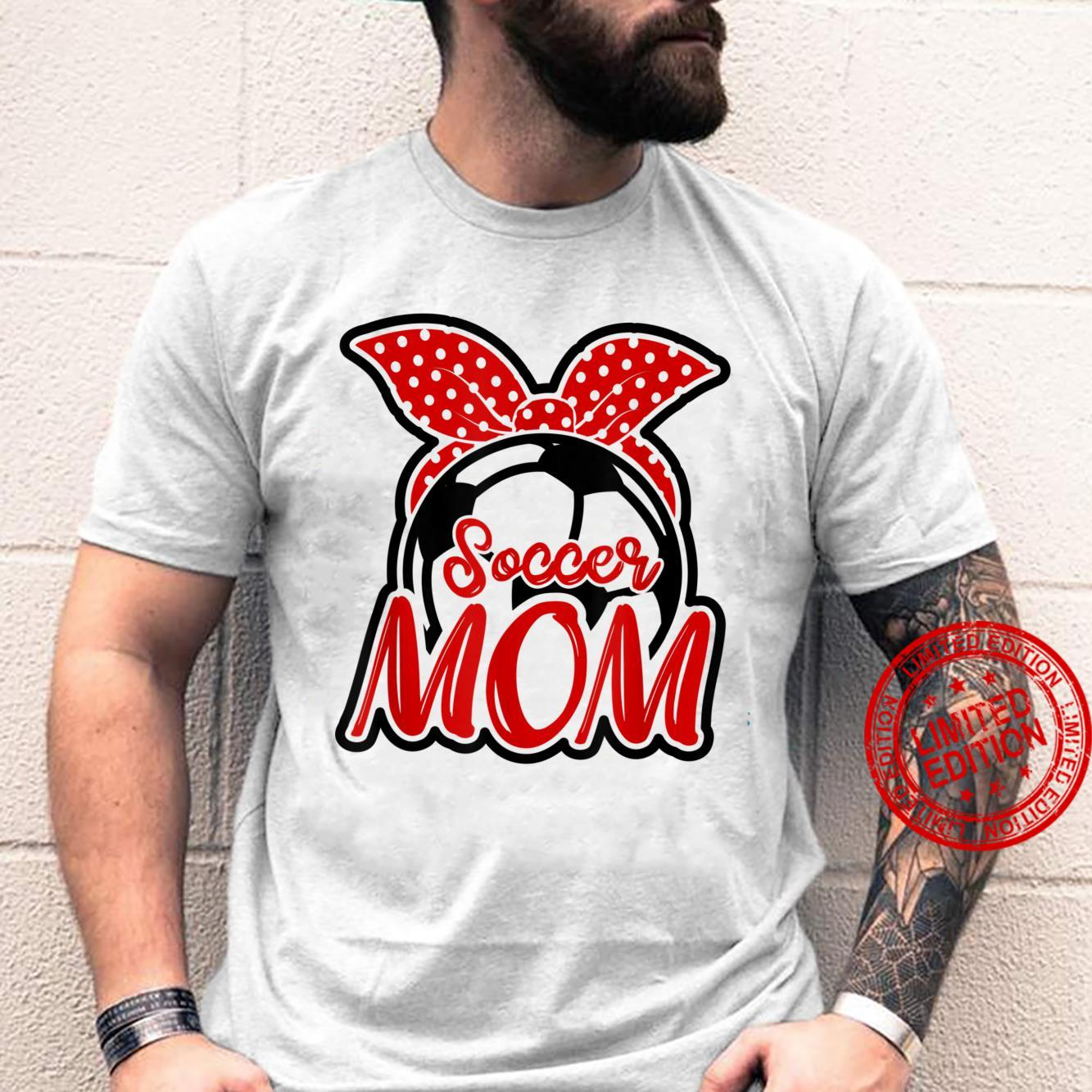 Soccer Mom Bandana Soccer Mom Mother's Day 2021 Shirt