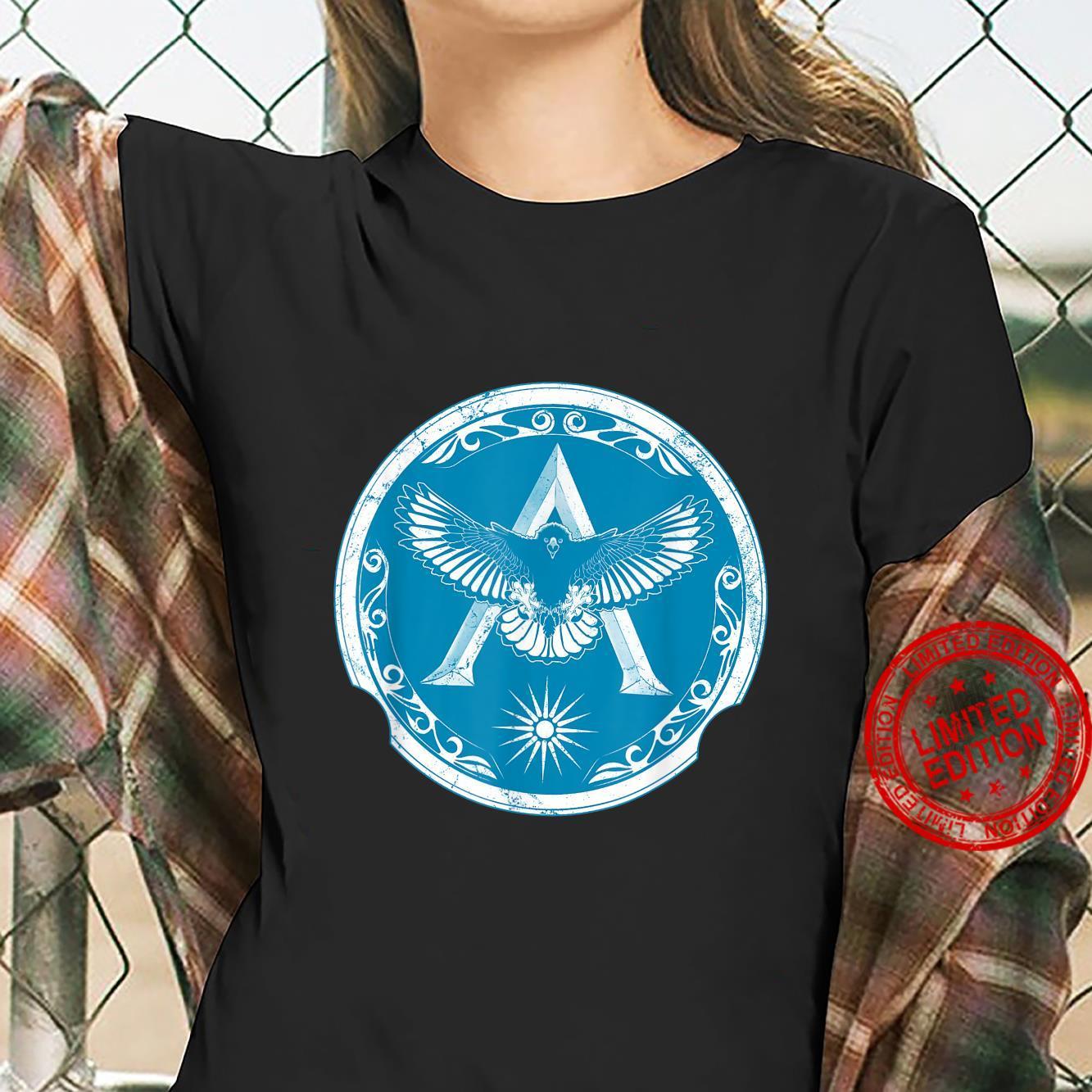 Spartan Eagle Symbol of Sparta Shirt ladies tee