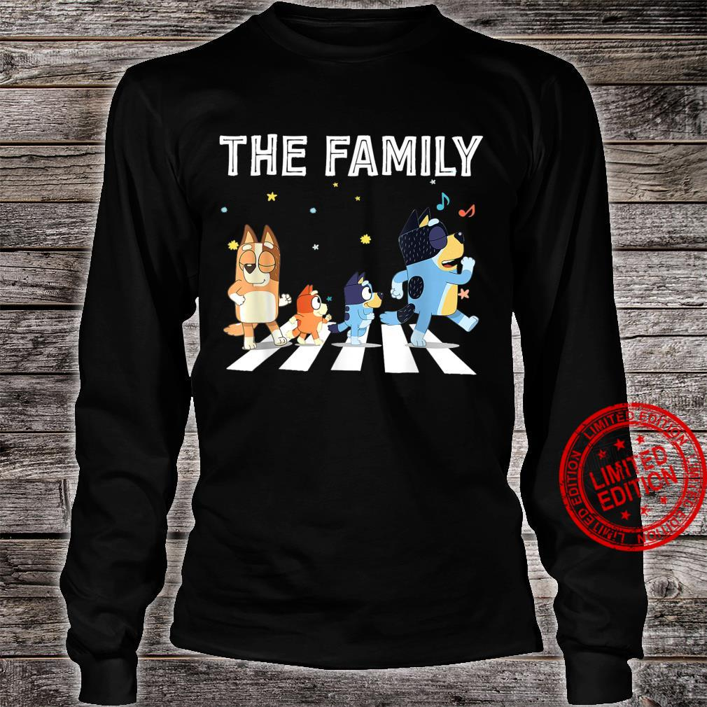 The Heel.er Family B.lue.y Dad Mom For Shirt long sleeved