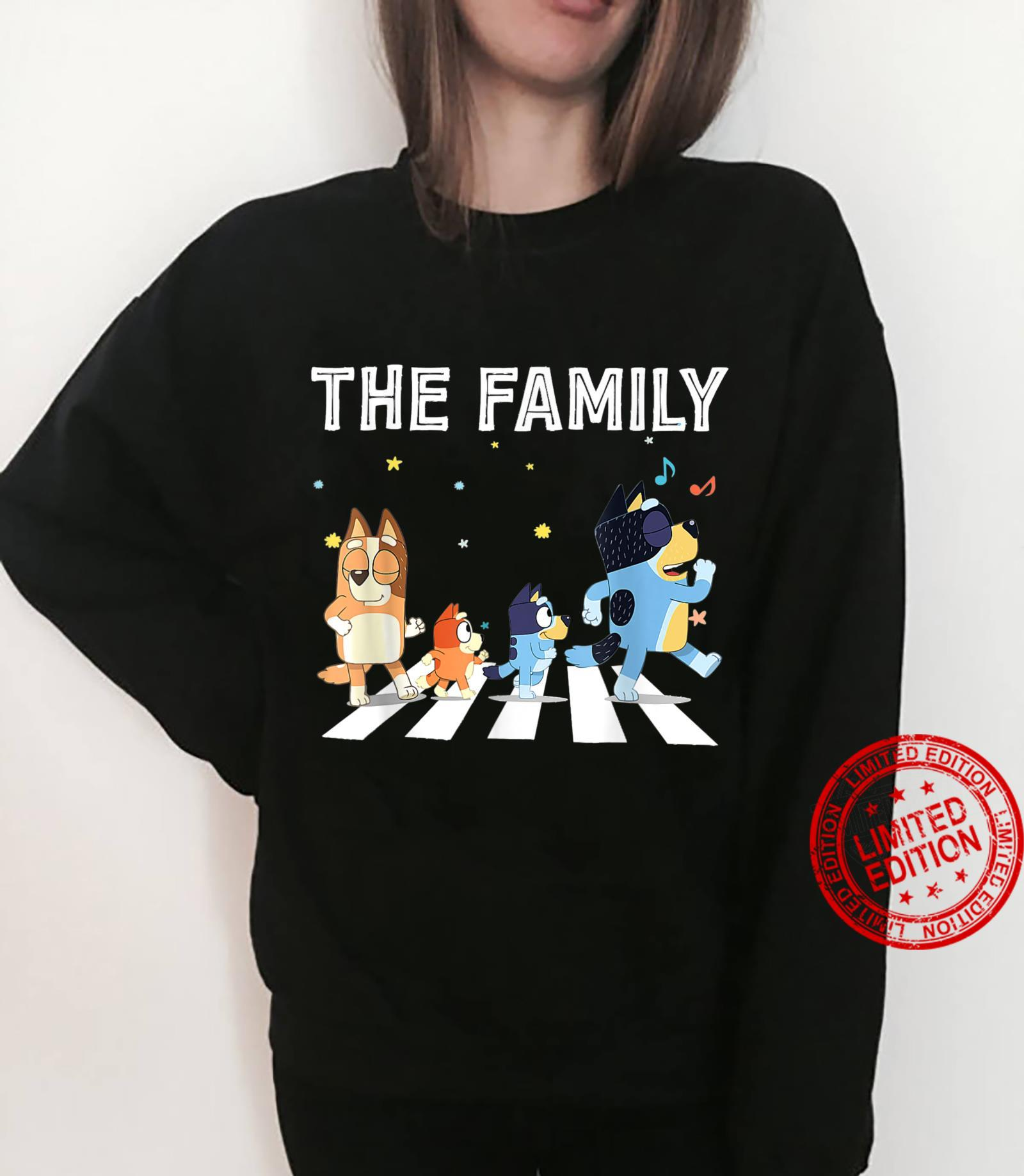 The Heel.er Family B.lue.y Dad Mom For Shirt sweater