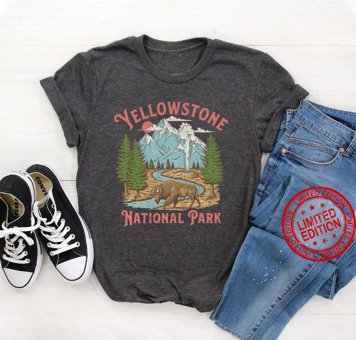 Vintage Yellowstone National Park Shirt