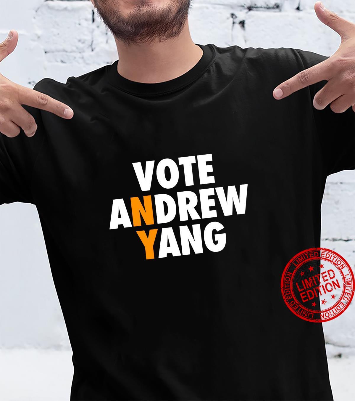 Vote Andrew Yang NYC New York City Mayor Yang Gang Shirt