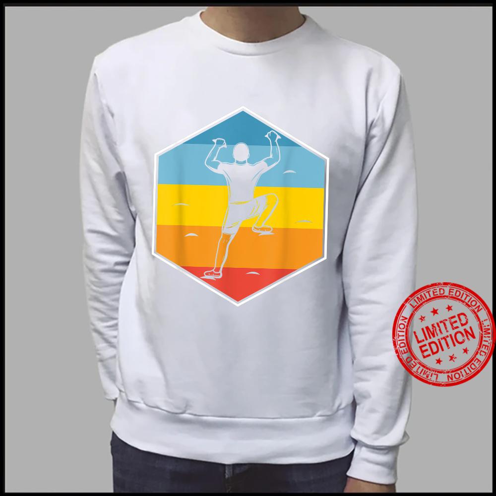 Wall Climb Hobby Sports Kletterer Retro Indoor Klettern Shirt sweater