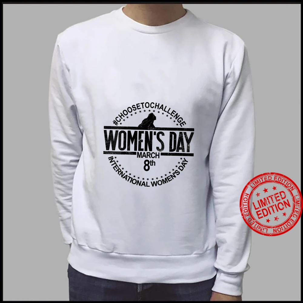 Womens International Women's Day March 8 Feminist's Day Shirt sweater