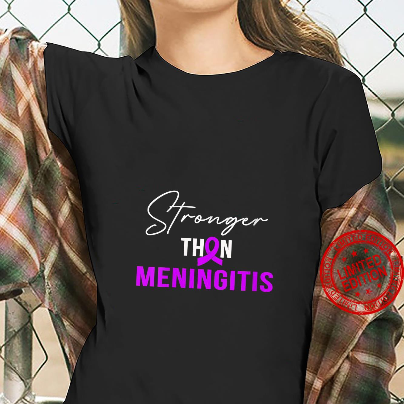 Womens StrongerINGITIS Warrior Shirt ladies tee