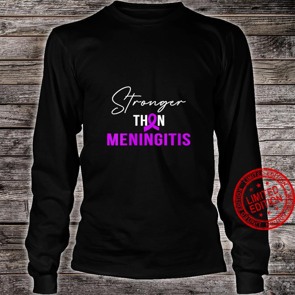 Womens StrongerINGITIS Warrior Shirt long sleeved