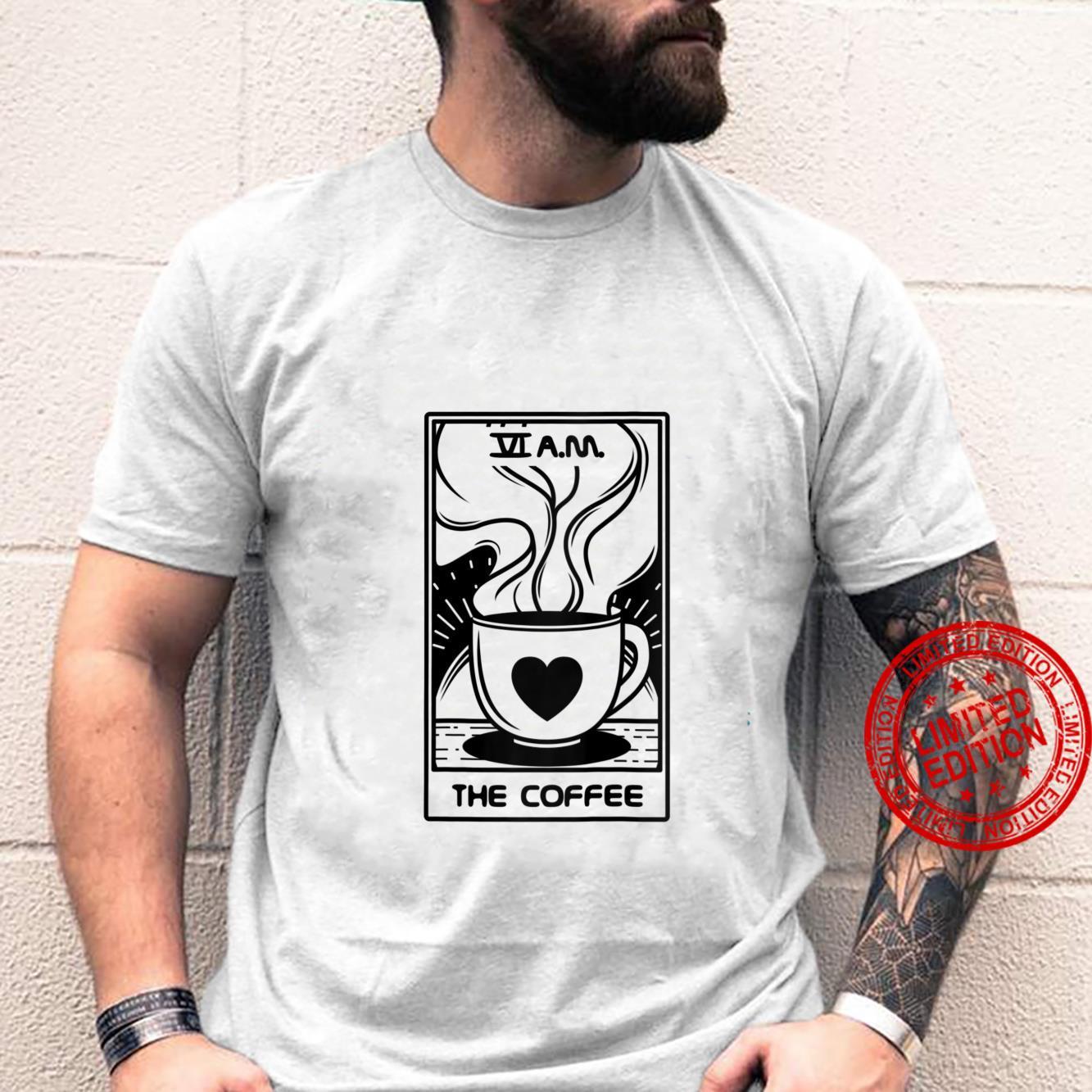 Womens Tarot Card Shirt The Coffee Witchy Shirt Coffee Shirt
