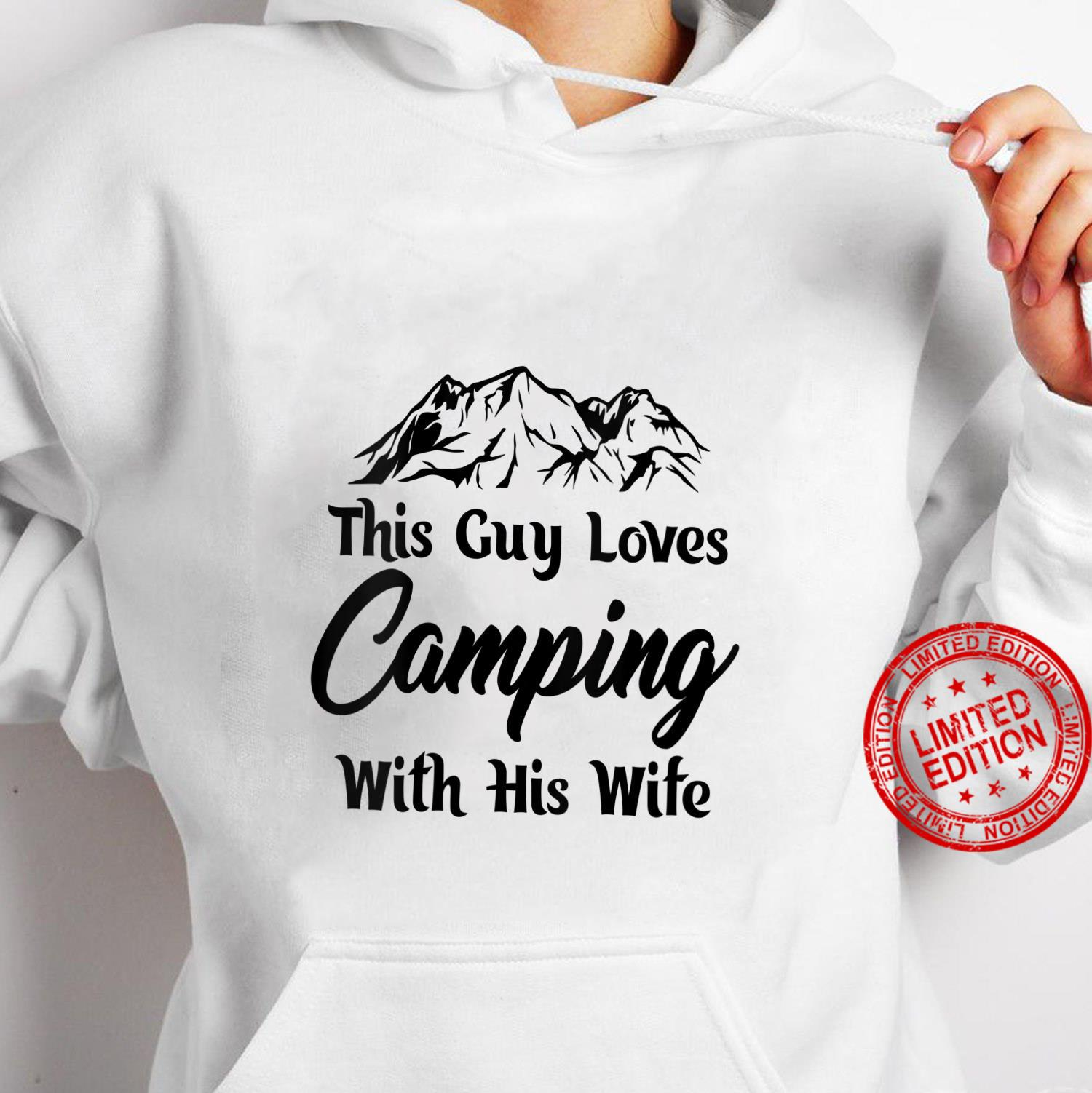 Womens This guy loves cameoing with this wife hilarious design Shirt hoodie