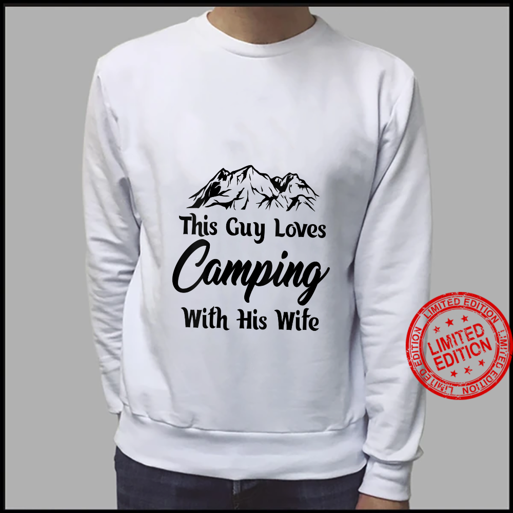 Womens This guy loves cameoing with this wife hilarious design Shirt sweater
