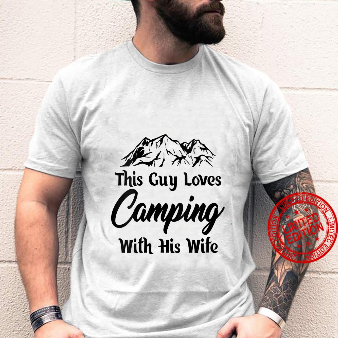 Womens This guy loves cameoing with this wife hilarious design Shirt