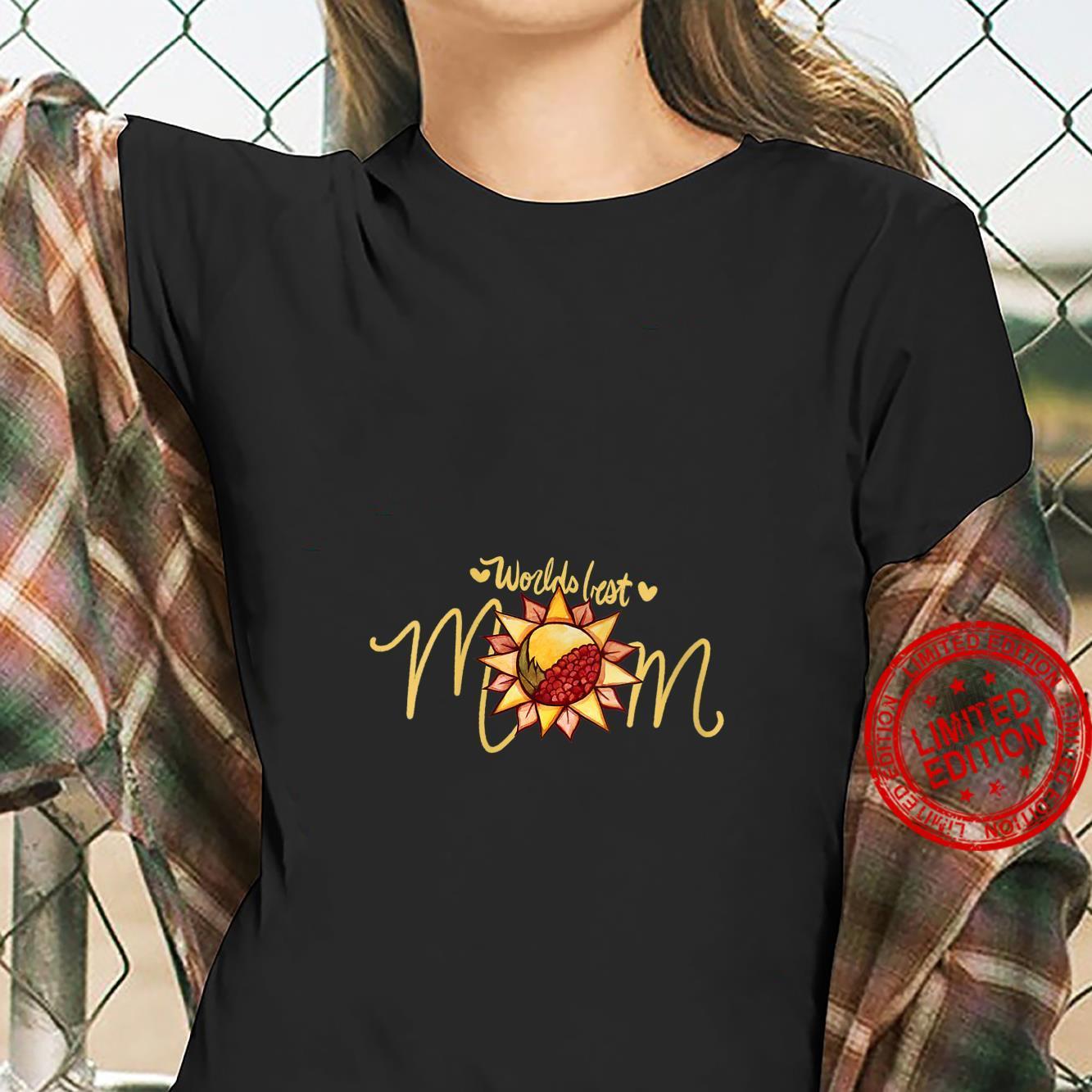 Womens Worlds Best Mom Nature Shirt ladies tee