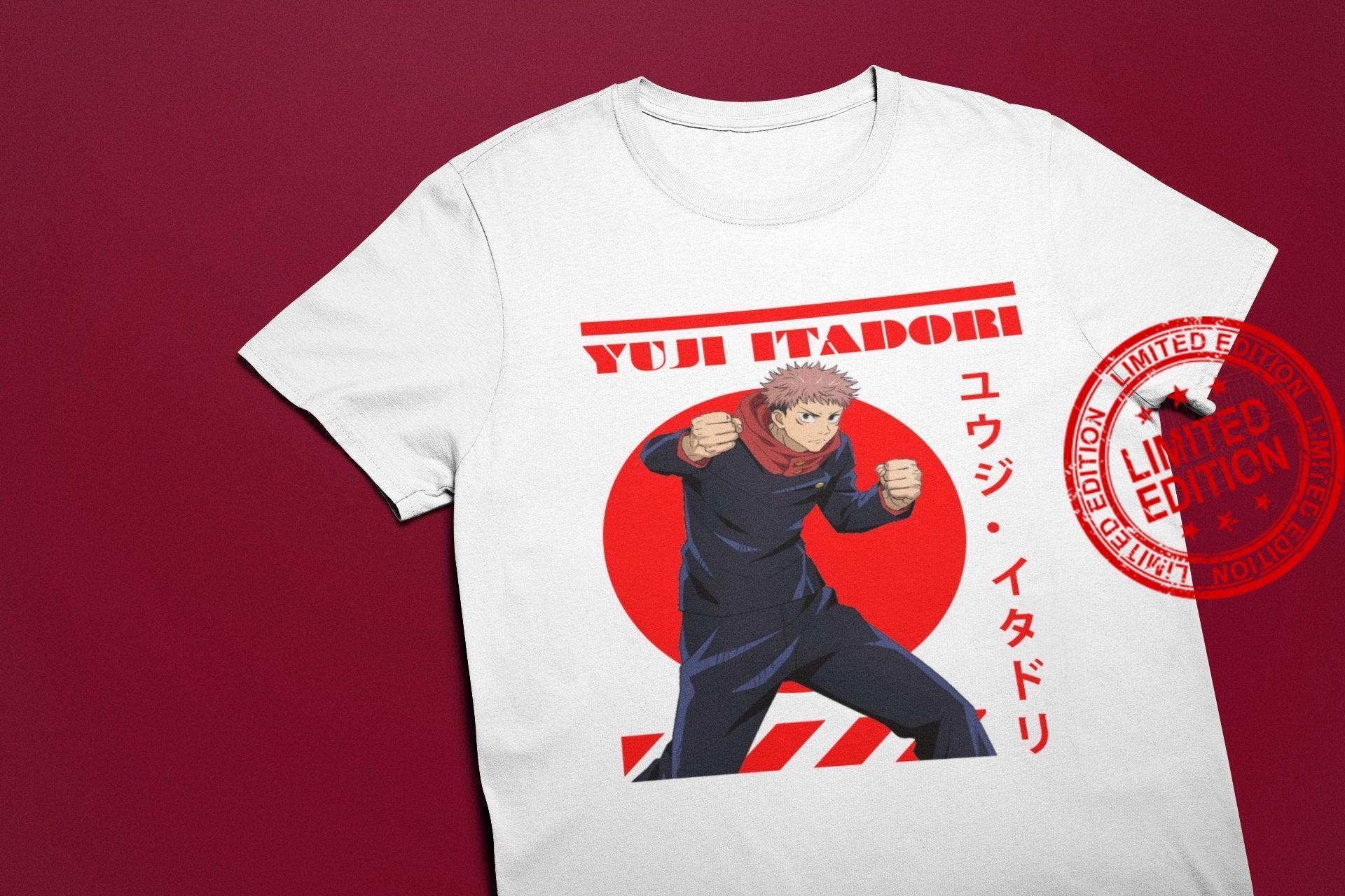 Yuji Itadori Yuji Itadori Anime Shirt