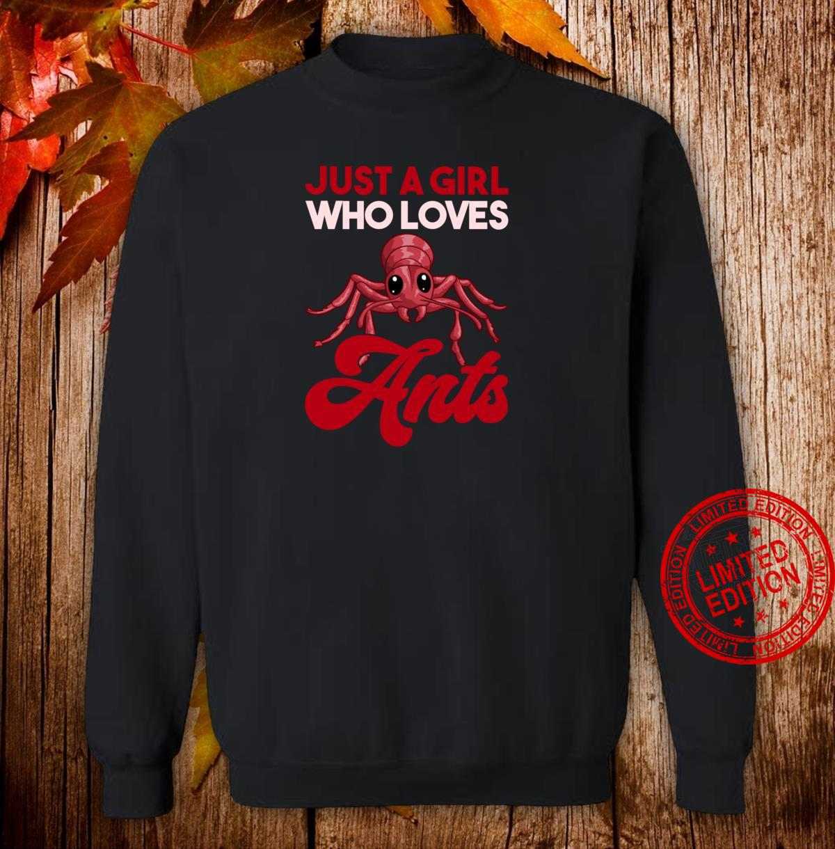 Ant Keeper Girls Ant Shirt sweater