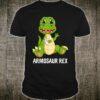 Armosaur Rex Broken Arm Dinosaur Shirt