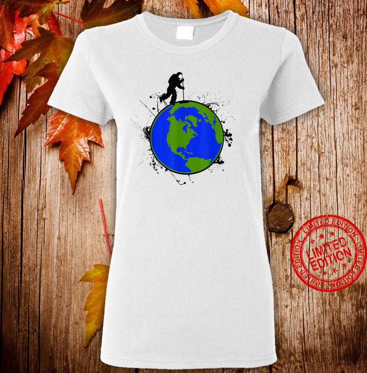 Astronaut Space Earth Day Stardust Sweeper Shirt ladies tee