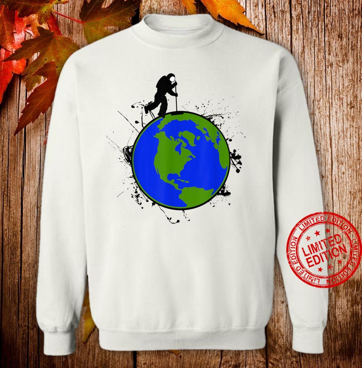 Astronaut Space Earth Day Stardust Sweeper Shirt sweater