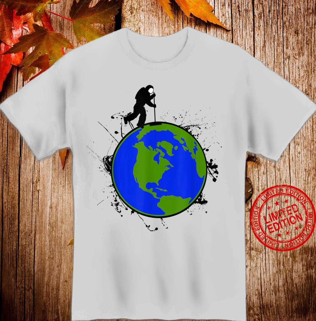 Astronaut Space Earth Day Stardust Sweeper Shirt