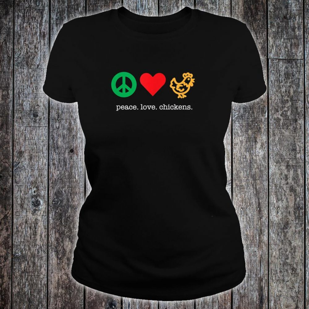 Awesome Chicken Shirt for Chicken Raisers Shirt ladies tee
